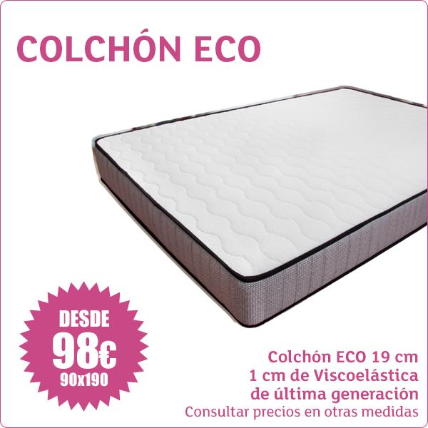 Colchón ECO Desde 98 euros